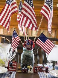 Why Is The American Flag Red White And Blue Outdoor Americana Style Red White And Blue Decorations
