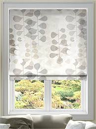 Cotton Roller Blinds Roman Blinds Fabric Roman Blinds At Stunning Prices