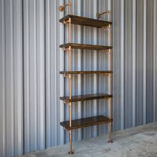 How To Make A Pipe Bookshelf Industrial Pipe Shelving Unit Pipe Shelf Pipe Bookcase