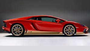car lamborghini gold lamborghini unveils a new 700 hp homage to the miura u2013 robb report