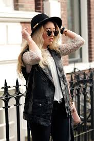 leather biker vest of the day leather biker vest lily like