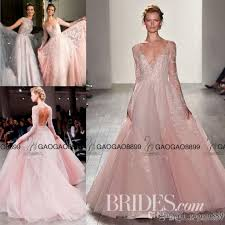 the rack wedding dresses hayley 2017 blush pink princess wedding dresses with