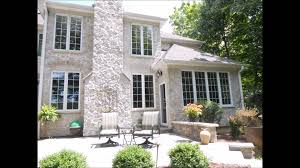 Brick Stone And Dryvit Exterior by Jad Exteriors Dryvit To Stone Reclad 2013 Youtube