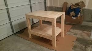 ana white small garage workbench diy projects small garage workbench
