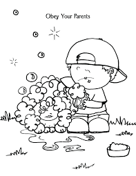 Toddler Bible Coloring Pages Obey Childrens Bible Story Coloring Children Bible Stories Coloring Pages