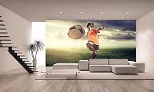 Poster Wallpaper For Bedrooms Soccer Wallpaper Ebay
