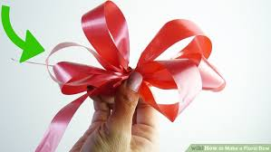 3 ways to make a floral bow wikihow