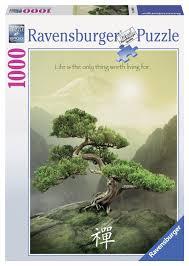 puzzle the zen tree ravensburger 19389 1000 pieces jigsaw puzzles