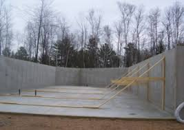 Insulating Basement Concrete Walls by Disadvantages Of Concrete Basement Walls Composite Panel Systems