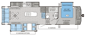 Carriage Rv Floor Plans by 2016 Eagle Fifth Wheel Floorplans U0026 Prices Jayco Inc