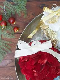 Easy To Make Christmas Decorations At Home Diy Holiday Ornaments From Silk Flowers