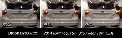 ford focus tail light bulb diode dynamics review led rear light upgrade brake turn signal