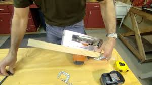 Bench Mounted Circular Saw How To Make Perfect Crosscuts And Rip Cuts With A Circular Saw
