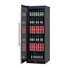 Beer Bottle Refrigerator Glass Door by 450 Can Beer Fridge With Glass Door Kingsbottle