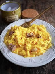 oeufs brouillés au foie gras recettes de cuisine marciatack fr