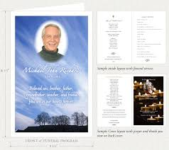funeral programs funeral programs by memorial prayer cards