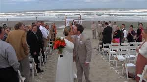 south padre beach wedding reception on the beach youtube