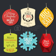 retail sale tags and clearance tags festive design