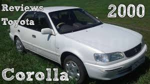 2000 toyota corolla reviews reviews toyota corolla 2000
