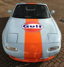 our mx5 in gulf livery mazda mx5 miata pinterest mazda and cars