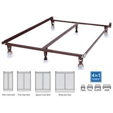 king size metal bed frame double size jessica full metal bed