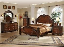 bedroom victorian bedroom design with cherry bed frame designed