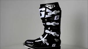 motocross boots 2012 gaerne sg12 black motocross boots 360 video youtube