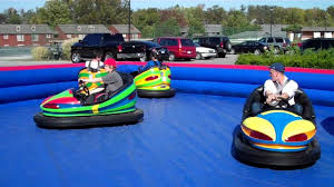 Backyard Bounce Backyard Bounce Bumper Cars Youtube