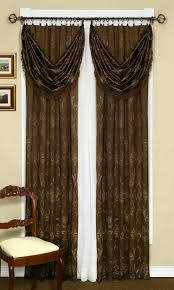 carrington tailored curtain u0026 scarf valance by achim curtains