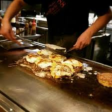 cuisiner au teppanyaki okonomiyaki teppanyaki griddle cuisine 88 picture of