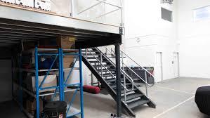 staircases u0026 handrails dynamic warehouse solutions u2013 mezzanine
