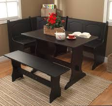3 Piece Kitchen Table by Kitchen Table Round 3 Piece Set Concrete Solid Wood 8 Seats Bronze