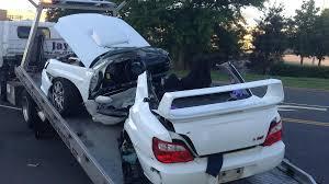 crashed subaru wrx 2 dead in separate crashes 2 miles apart nbc connecticut