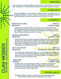 bartender resume exles bartender resume exle toreto co new shining ideas resumes