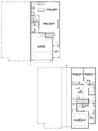 Townhome Floor Plan by The Samson Townhome