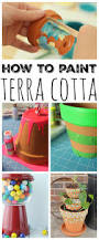 how to paint terra cotta the country chic cottage