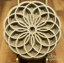 mandala pattern laser cut plans for sale and download artie farties