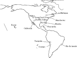 map of and south america black and white world map of singing sands