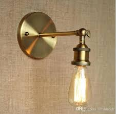 wall sconce light fixtures brass rustic retro led wall lights fixtures loft style vintage lamp