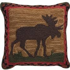 rustic throw pillows cabin place