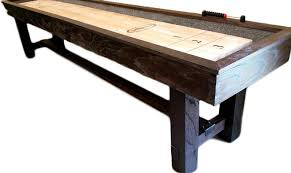 imperial bedford 12 shuffleboard table vintage rustic shuffleboards shuffleboard planet