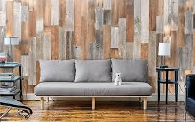 reclaimed wood accent wall wood from recwood planks in artis wall utilizes reclaimed wood planks