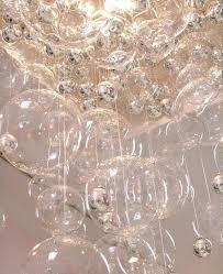 Glass Bubble Chandelier Diy Raining Bubble Chandelier Happiness Is