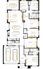 Single Story House Plans Without Garage by Island Hampton Single Storey Floor Plan Wasingle Story Plans With