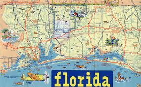 Milton Florida Map by Florida Aaroads U S Highway 90