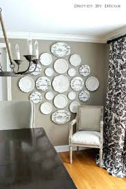 Decorative Plates For Wall Hanging Plates To Create A Decorative