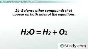 chemical reactions and balancing chemical equations lesson transcript study com