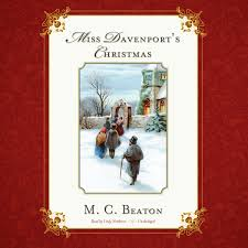 download miss davenport u0027s christmas audiobook by m c beaton read