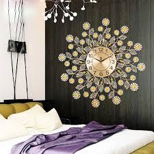 Decorative Metal Wall Clocks Clocks Mesmerizing Decorative Metal Wall Clocks Oversized Wall