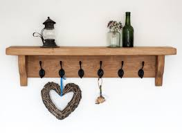 interior remarkable design of wall coat rack with shelf wall